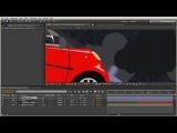 Создание анимации векторного автомобиля в After Effects. Урок 7